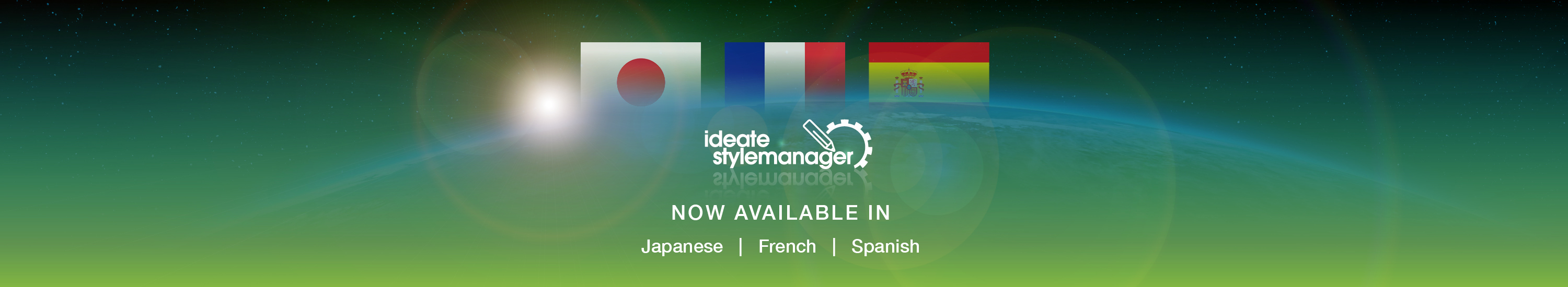 Ideate StyleManager Now Available in Japanese, Spanish and French