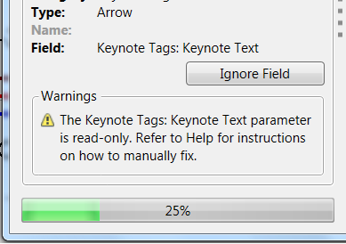 Understanding Warning Messages in Ideate SpellCheck for