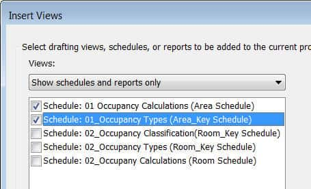 Occupancy Estimates with Room or Area Revit Elements