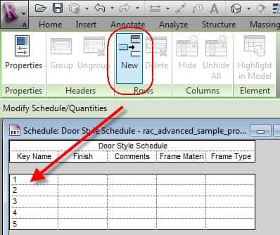 Creation of Key Schedules within Revit Models | Ideate BIMLink