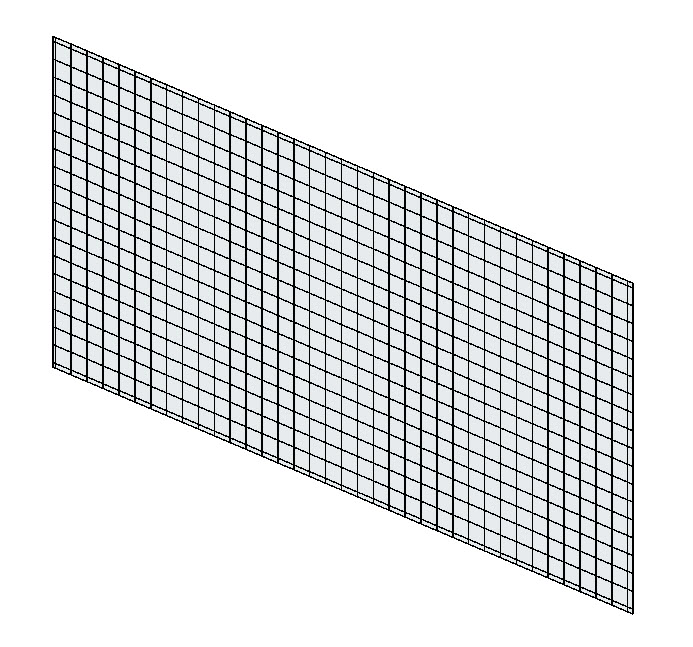 Create a custom curtain wall using the custom curtain wall for Curtain creator software