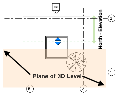Plan view in Revit